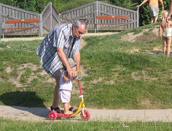 GrandfatherAndScooter