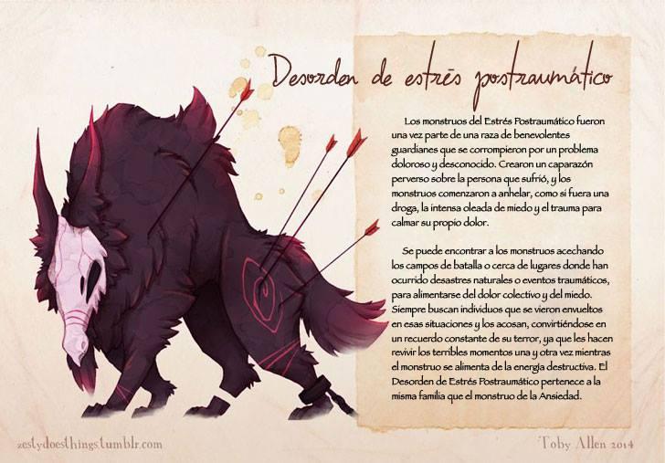 enfermedades-mentales-ilustradas-monstruos-toby-allen-13